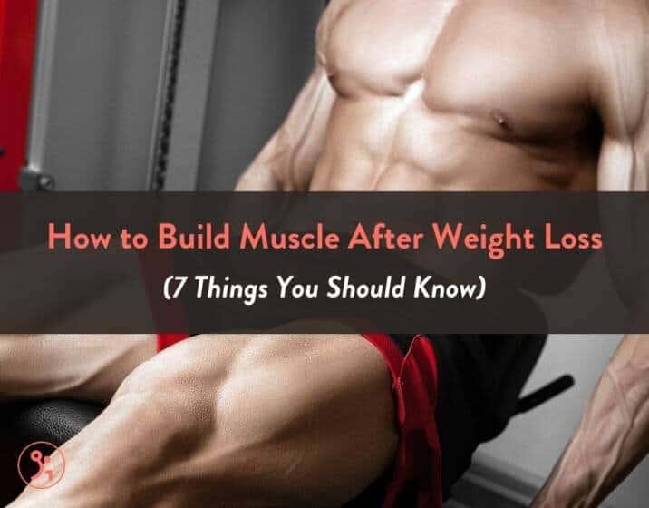 Comment puis-je développer mon corps après avoir perdu du poids?